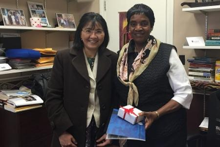 Visit from Professor To Mai Hong-Xuan
